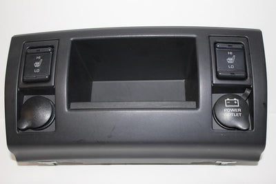 1999-2004 JEEP GRAND CHEROOKE CENTER DASH HEATED SEAT SWITCH TRIM 55116912AA