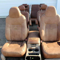 03-06 Ford Expedition King Ranch Leather Seats & Console  3Rows
