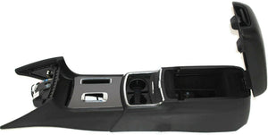 2011-2017 Dodge Charger Floor Center Console W/ Cup Holder Black Police Upgrade