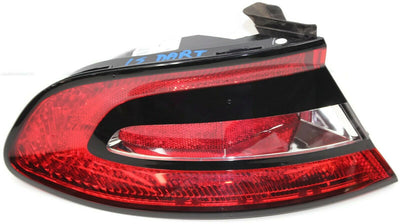 2013-2016 Dodge Dart Left Driver Side Taillight Outer Tail Light