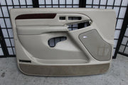 2003-2006 CADILLAC ESCALADE LEFT DRIVER SIDE DOOR PANEL