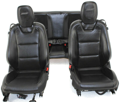 2010-2015 Chevy Camero SS Rear & Front Driver & Passenger Side Leather Seats