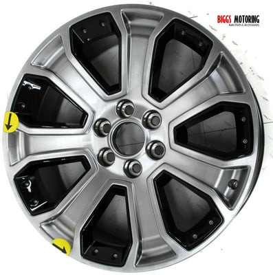 2014-2018 Chevy Silverado Tahoe Escalade 7 Spoke 22x9 Wheel  Rim 22857102