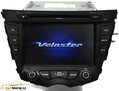2012-2015 Hyundai Veloster Radio Touch Screen Bluetooth Cd Player 96560-2V720