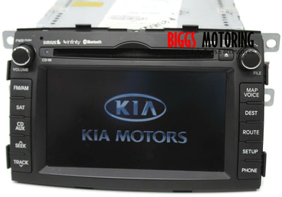 2011-2013 Kia Sorento Navigation Radio Cd Player Display Screen 96560-1U000CA