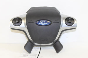 2013 2014 FORD ESCAPE DRIVER STEERING WHEEL AIRBAG W/ VOICE REGCOGNITION