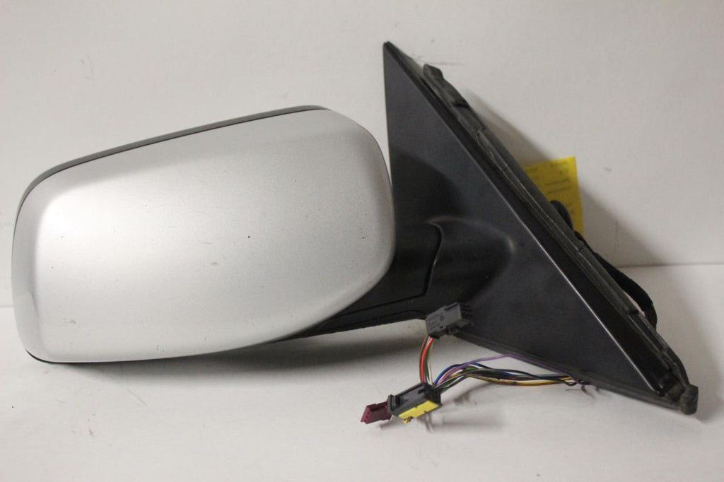 2002-2006 BMW 545i PASSENGER SIDE RIGHT SIDE POWER DOOR MIRROR SILVER