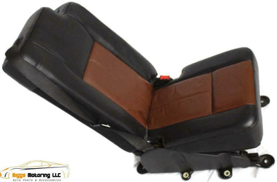 07-17 Ford Navigator Expedition Middle Center 2Nd Row Jump Seat  Leather 2 Tone