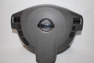 2008-2012 NISSAN SENTRA DRIVER STEERING WHEEL AIR BAG GRAY