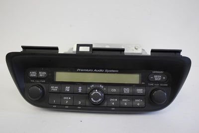 2005-2010 HONDA ODYSSEY XM RADIO CD DVD PLAYER UNIT 39100-SHJ-A900