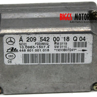 2001-2005 Mercedes Benz W209 C300 Speed Yaw Rate Sensor A 209 542 00 18