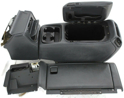 1999-2002 Avalanche Tahoe Sierra Silverado Floor Center Console & Glove Box