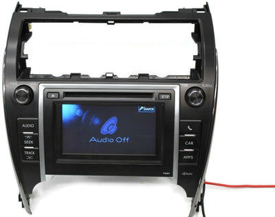 2012-2014 Toyota Camry P10067 Radio Stereo Cd Player Display Screen 86140-06021