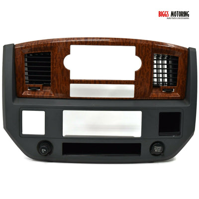 2006-2009 Dodge Ram Center Dash Radio Bezel 5KE76TRMAC