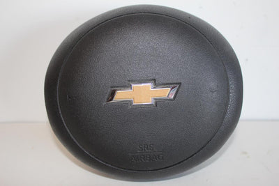 2015-2017 CHEVY CITY EXPRESS DRIVER SIDE STEERING WHEEL AIR BAG BLACK