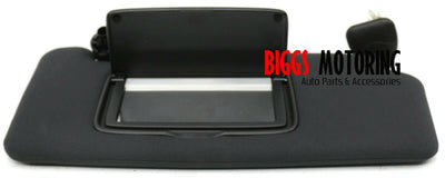 2009-2019 Nissan 370Z Passenger Right Side Sun Visor Black