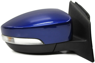 15 16 17  Ford Focus Passenger Right  Side Power Door Mirror Blue