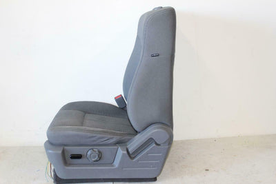 09 10 11 12 13 F150  Grey Cloth Drivers Seat + Powered Track Complete