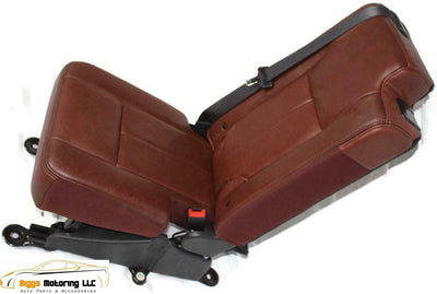 07-17 Ford Expedition King Ranch Middle 2Nd Row Jump Seat Leather Tan
