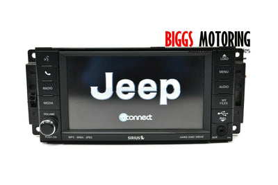 2013-2016 Chrysler Town & Country MyGiG Navigation High Speed Radio P05064829AH