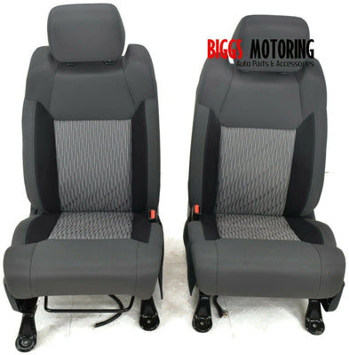 2015-2019 Toyota Tundra Front Driver & Passenger Side Seat