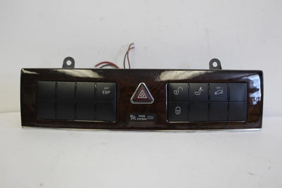 2005-2007 MERCEDES BENZ W203 C280 DASHBOARD CONTROL PANEL 203 870 05 10