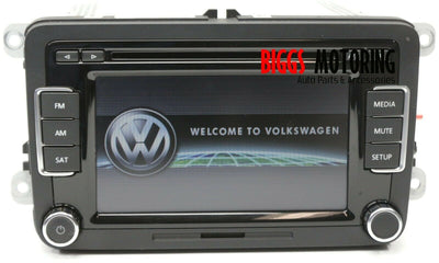 2010-2012 VW Jetta Golf Passat Radio Display Screen Cd Player 1K0 035 180 AC