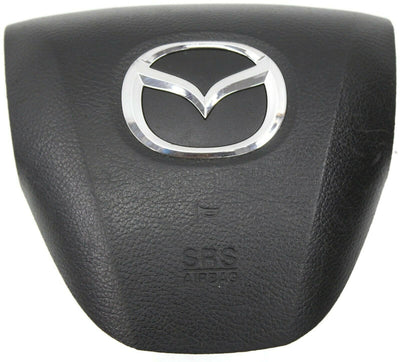 Eleven Twelve Thirteen  Mazda 6 Driver Side Steering Wheel Air Bag Black