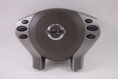 2007-2012 NISSAN ALTIMA DRIVER SIDE STEERING WHEEL AIR BAG  GRAY