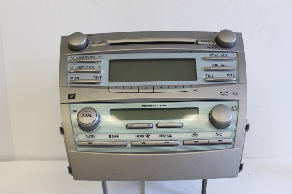 2007-2010 TOYOTA CAMRY JBL RADIO CD MP3 WMA 6 DISC CHANGER 86120-06190