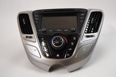 2012-2017 HYUNDAI VELOSTER NAVIGATION RADIO CD PLAYER A/C CONTROL 96560-2V720