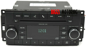 2007-2013 Chrysler Dodge Jeep Radio Stereo Single Disc Cd Mp3 Player P05091117AC