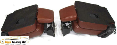 07-17 Ford Expedition King Ranch 2Nd Row 2 X Bucket Seats Leather Tan
