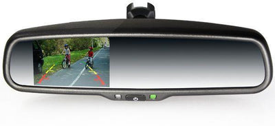 2010-2015 Lexus Rx350 Rx400 Rear View Mirror Back Up Camera Lcd Display ###