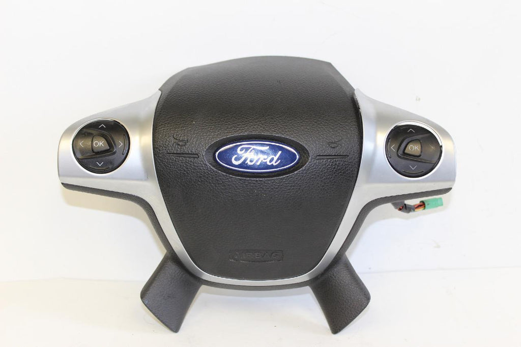 2013-2014  FORD ESCAPE DRIVER STEERING WHEEL AIRBAG W/ VOICE RECOGNITION SYNC