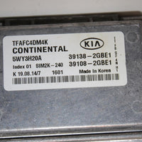 2014-2015 KIA OPTIMA  ECU ENGINE CONTROL MODULE 39138-2GBE1