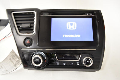 14 15 2015 HONDA CIVIC SI TOUCH SCREEN RADIO UNIT W/VENT OEM NR241-UH