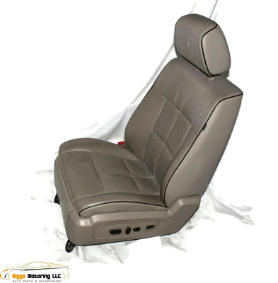 07-14 Lincoln Navigator Tan Leather Power Seat Heat & Cool Complete