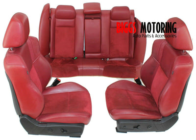 2011-2014 Dodge Charger Rt Front /Rear Passenger & Driver Side Seats