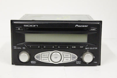2004-2007 SCION AM/FM RADIO CD MP3 STEREO AUDIO PLAYER 08600-21800