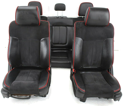 2009-2014 Ford F150 FX4 Front & Rear Driver / Passenger Side Seats Black
