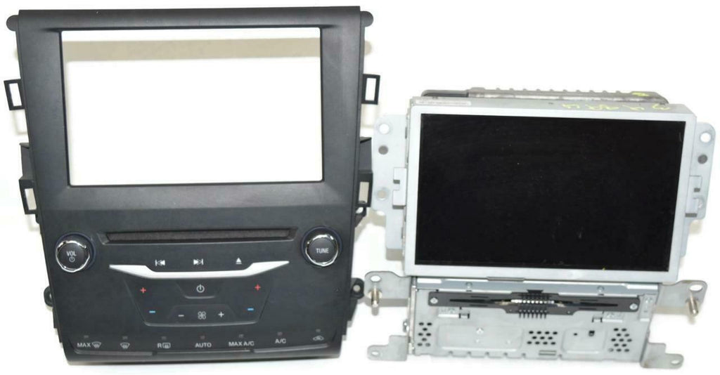 13-15 Ford Fusion Info Display Screen CD Player (3 Pieces) DS7T-14F239-BR