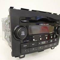 2007-2011 HONDA CR-V STEREO XM RADIO 6 DISC MP3 CD PLAYER 39100-SWA-A100