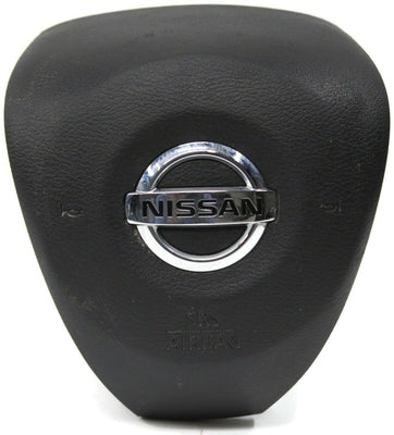 2016-2018 Nissan Maxima Driver Left Side Steering Wheel Air Bag Black