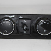 2007-2013 CHEVY TAHOE SILVERADO YUKON SIERRA HEADLIGHT SWITCH CONTROL 15926099A