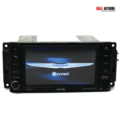 2012-2016 Chrysler Jeep RBZ MyGiG High Speed Radio Stereo Cd Player P05091327AE
