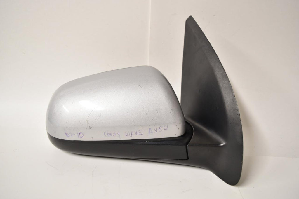 2007-2011 CHEVY AVEO PASSENGER RIGHT SIDE DOOR MIRROR SILVER