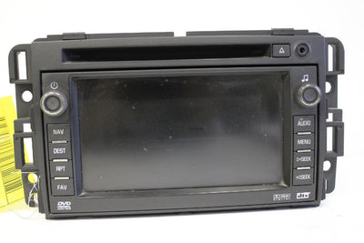 2007-2010 CHEVY BUICK RADIO STEREO GPS NAVIGATION CD DVD PLAYER