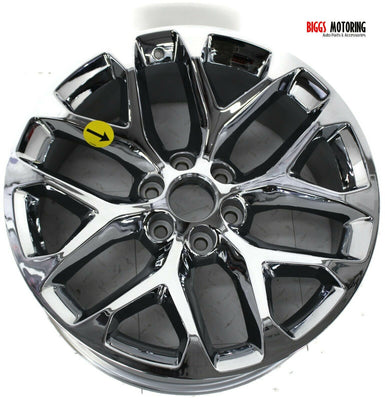 2015-2020 Cadillac Escalade Ext Snow Flake 22x9 Wheel  Rim 20939948