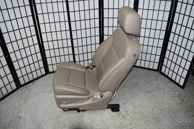 14-18 SILVERADO SIERRA TAN 10 WAY POWER LUMBAR LEATHER FRONT DRIVER SEAT AIRBAG
